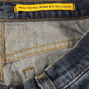NYDJ Jeans - NYDJ Womens Blue Straight Denim Jeans 8